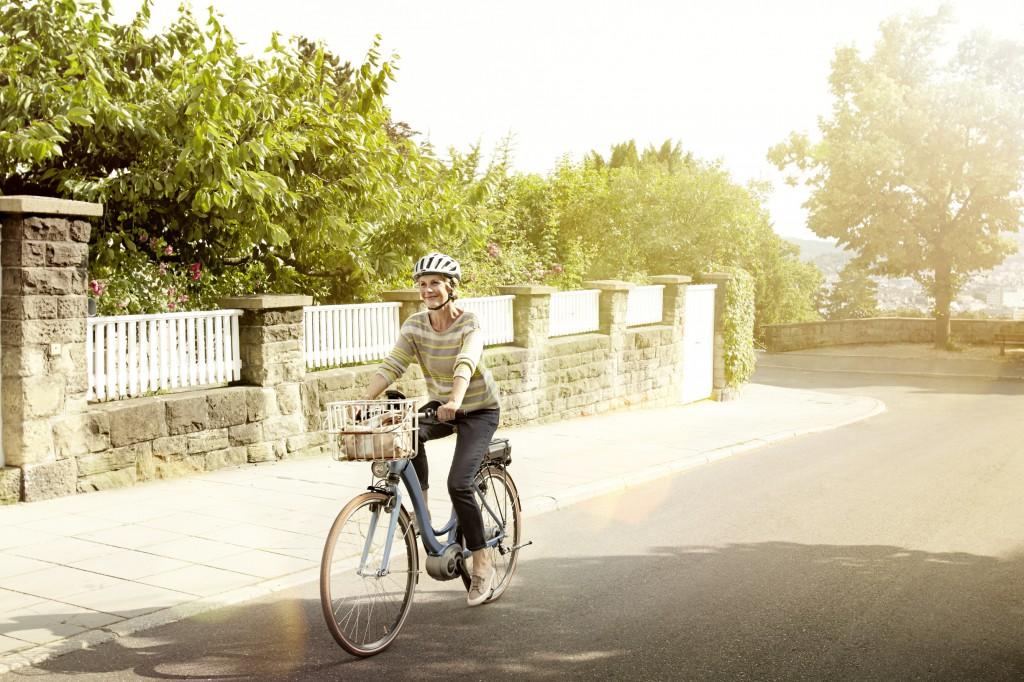 Mit dem E-Bike zur Arbeit / Foto: Bosch