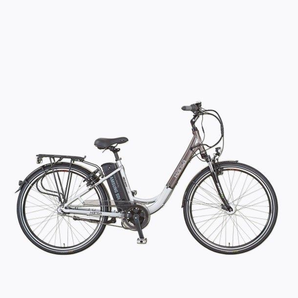 Aldi E-Bike 2015 mit Mittelmotor von der Seite
