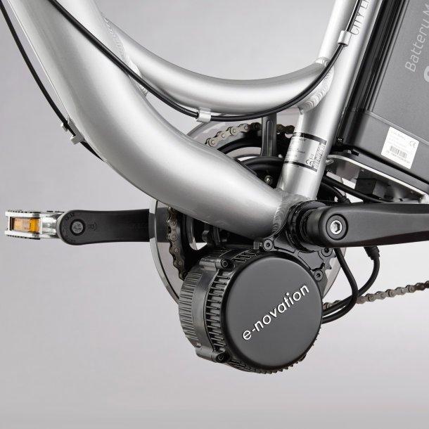 Mittelmotor am Aldi Nord E-Bikes 2015